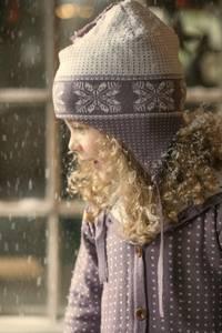 Bilde av Star ull lue støvlilla