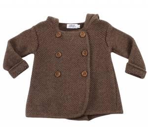 Bilde av Alpakka jakke brun